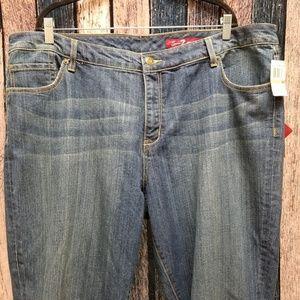 Seven7 Boot Cut Medium Wash Jeans